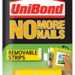 UniBond No More Nails Removable Strips 1507604