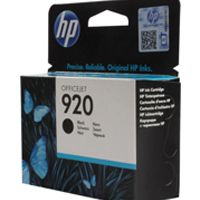 HP 920 Ink Cartridge Black Officejet 6500 CD971AE CD971AE#BGX
