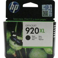 HP 920XL Ink Cartridge Black Officejet 6500 CD975AE CD975AE#BGX