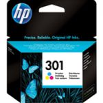 HP 301 Ink Cartridge 3-Colour CH562EE
