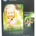 HP Everyday Photo Paper Gloss A4 200gsm White Pk 100 Q2510A