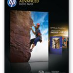 HP Glossy Photo Paper Borderless 13x18cm Pk 25 Q8696A