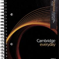 Cambridge Everyday A5 Wirebound Notebook 100 Pages 400020197