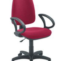 Jemini High Back Operator Chair Claret
