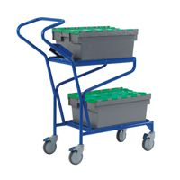 Order Picking Trolley Blue 321870