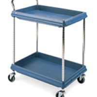 Deep Ledge Trolley PBC2030-2DBU 2-Tier Blue 322442