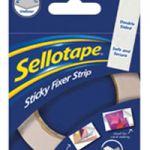 Sellotape Sticky Fixers Strip 25mm x 3m 484330