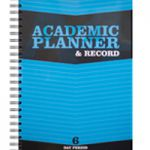 Silvine Teacher Academic Planner and Record 6 Period Blue EX202