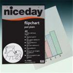 Economy Euro Plain Flipchart 50 grm 50 Sheets 98X65cm