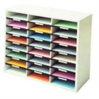 Fellowes Literature Organiser 24 Compartment