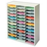 Fellowes Literature Organiser 36 Compartment