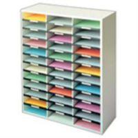 Fellowes Literature Organiser 36 Compartment