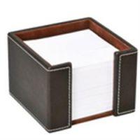 Osco Faux Leather Memo Pad Holder