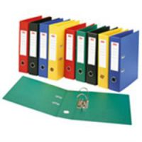 Polypropylene Lever Arch Files Foolscap 70mm Yellow