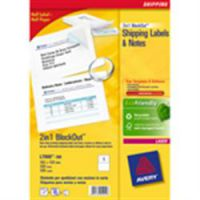 Avery Premium 2 in 1 Filing labels White and Grey 61 x 288/224