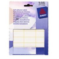 Avery White Self Adhesive Labels 18 x 38mm