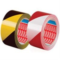 Tesa Warning Tape 50mm x 66m Red/White