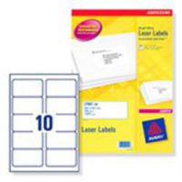 Avery Laser Labels 99.1 x 38.1 Bulk Pack
