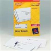 Avery Laser Labels 63.5 x 38.1 Extra Value Pack