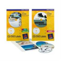 Avery Laser CD Labels Glossy Colour