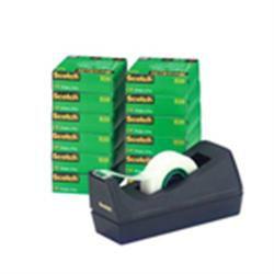 Scotch Magic Tape Desk Dispenser Pack C38