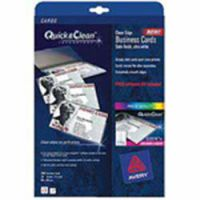 Avery Quick and Clean Laser Business Cards Colour 10 Per Sheet