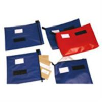 Reusable Security Mailing Pouches A4 Low Volume - Blue