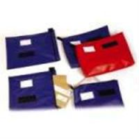 Reusable Security Mailing Pouches High Volume Medium Red