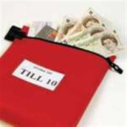 Reusable Security Cash Bag 267 x 290 x 50mm