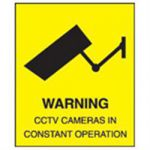 Warning Cctv In Operation Warning Sign