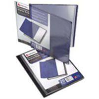 Rexel A4 Display Book Blue 20 Pocket
