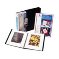 Rexel A4 Clearview Display Book Black 12 Pocket