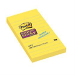 Post-it Notes Super Sticky Lined 152 x 102mm