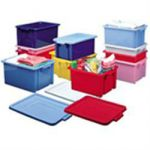 Strata Storage Crate Jumbo Blue 56L