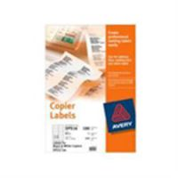Avery Copier Labels 105 x 58mm 100 Sheets