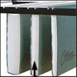 Acco Twinlock Crystalfile Foolscap Suspension Files 30mm Blue