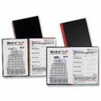 Black n Red A6 Polypropylene Ruled Book