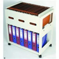 Rotadex Suspension File Filing Trolley - Plus Storage Shelf