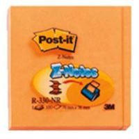Post-it Neon Z-Notes 76 x 76mm Assorted Neon