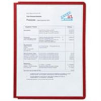 Sherpa A4 Display Panels Red