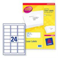 Avery Laser Labels 99.1 x 67.7mm Clear