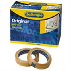 Sellotape Original Clear Large Core Tape 25mm x 66m