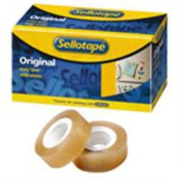 Sellotape Original Clear Small Core Tape 25mm x 33m