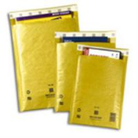 Sealed Air Mail Lite Gold Bubble Lined Bags A/000 100 x 160mm