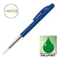 538719 : Bic M10 Retractable Ball Point Pen Blue