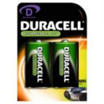 Duracell Rechargable Batteries D