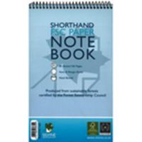 Silvine Environmental Feint-Ruled Shorthand Spiral Notebook