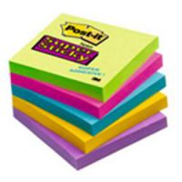 Post-it Super Sticky Ultra Colour Notes 100 x 100mm Ruled