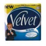 Triple Velvet Toilet Paper