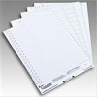 Acco Inserts For Tabs On Suspension Files - Pack Of 50